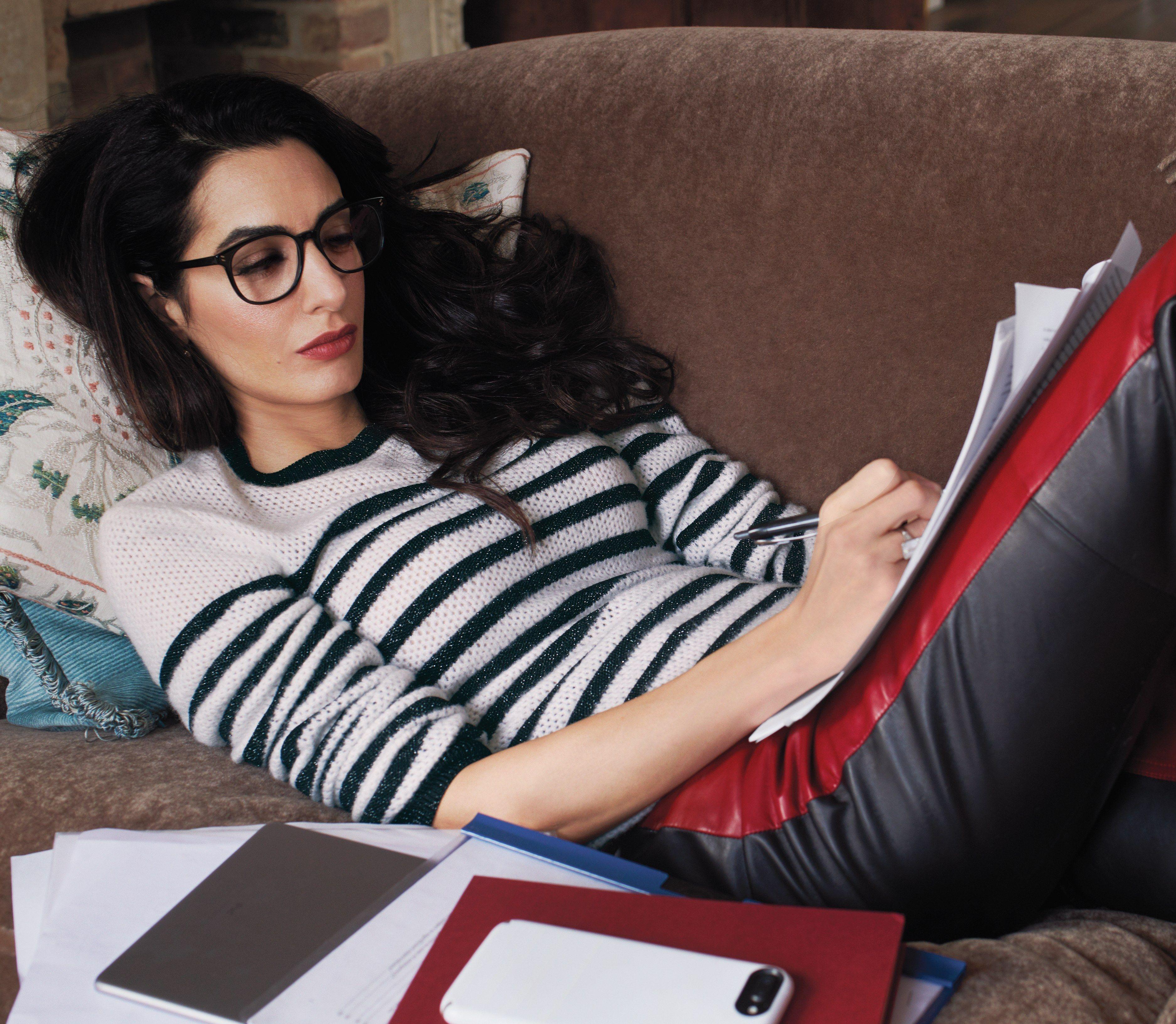 Прекрасные карьерные советы от Амаль Клуни