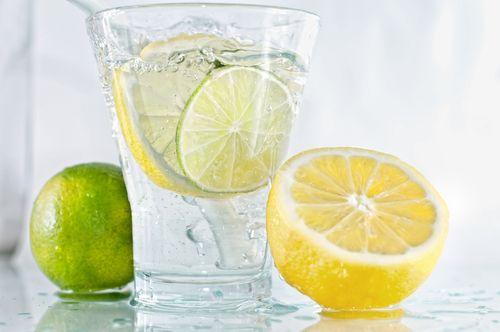лимон, лайм, вода, детокс
