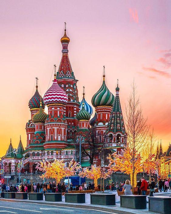 Места с самыми красивыми закатами в Москве