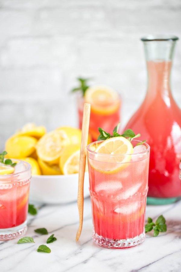 7 рецептов освежающих лимонадов