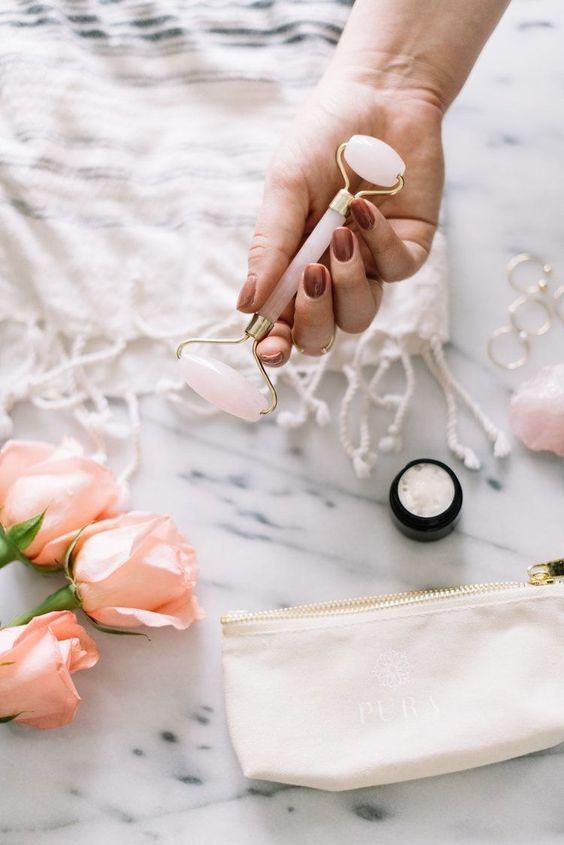 Как использовать роллер для лица из розового кварца массажер японский ямагучи