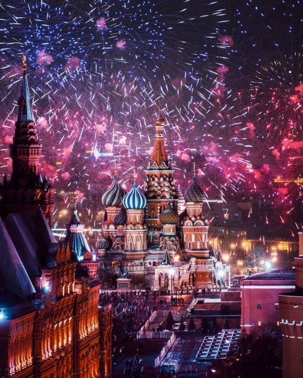 Где искать новогоднее настроение в Москве?