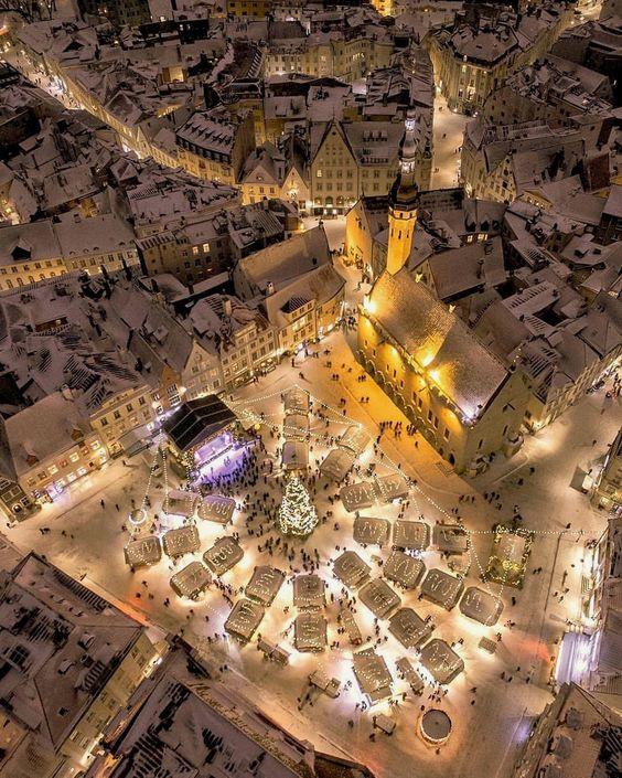 куда поехать на Рождество в Европу