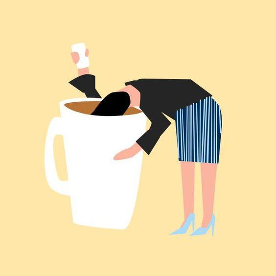Как оставаться бодрой на работе без литров кофе